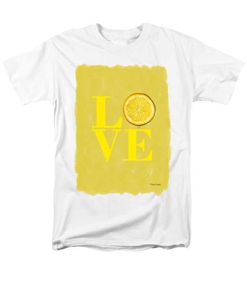 Lemon Men's T-Shirt  (Regular Fit)