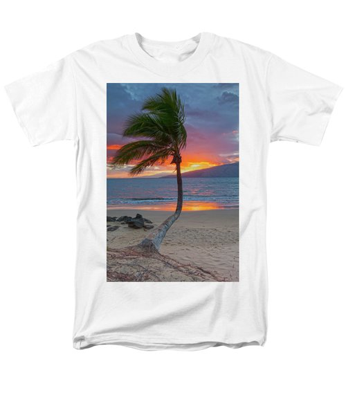 Lonely Palm Men's T-Shirt  (Regular Fit) by James Roemmling