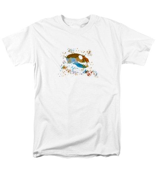 Meerkat Skull Men's T-Shirt  (Regular Fit) by Mordax Furittus