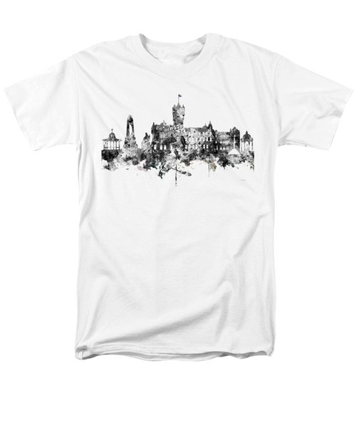 Rutherglen Scotland Skyline Men's T-Shirt  (Regular Fit)