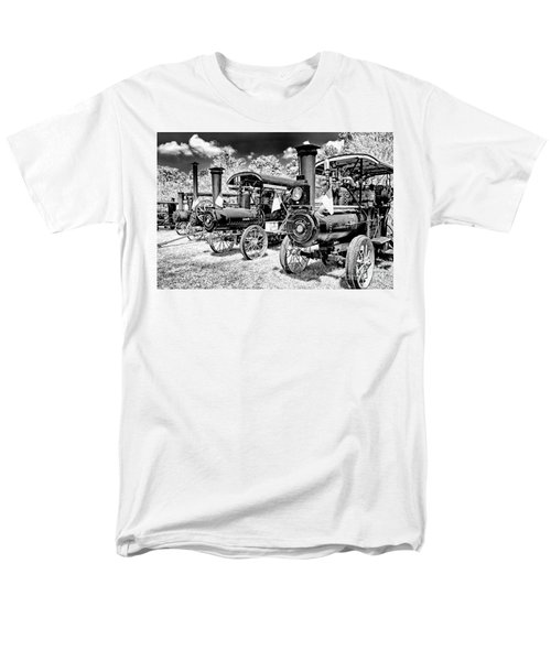 Men's T-Shirt  (Regular Fit) featuring the photograph The Old Way Of Farming by Paul W Faust - Impressions of Light