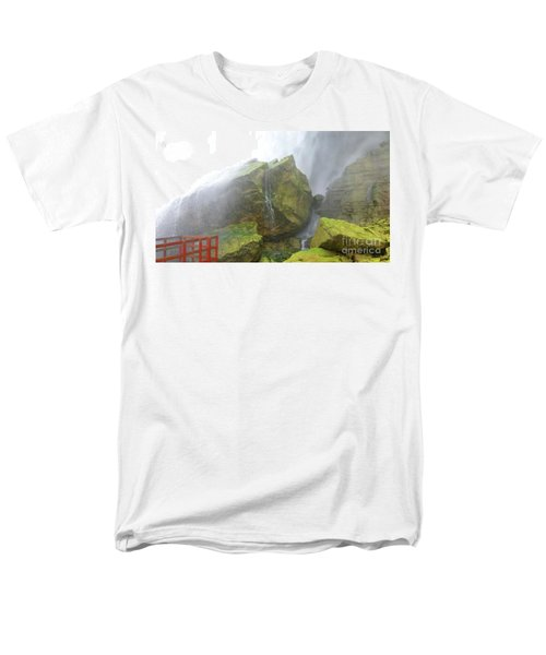 Men's T-Shirt  (Regular Fit) featuring the photograph Water Path by Raymond Earley