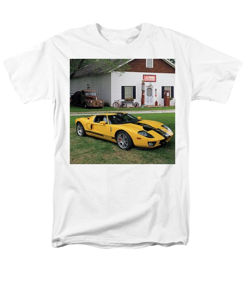 Men's T-Shirt  (Regular Fit) featuring the photograph 2005 Ford Gt by Christopher McKenzie