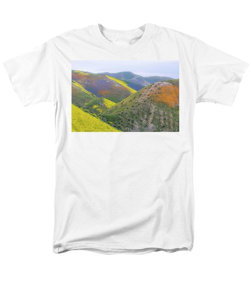 2017 California Super Bloom Men's T-Shirt  (Regular Fit) by Marc Crumpler