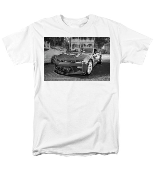 2017 Chevrolet Camaro Ss2 Bw Men's T-Shirt  (Regular Fit) by Rich Franco