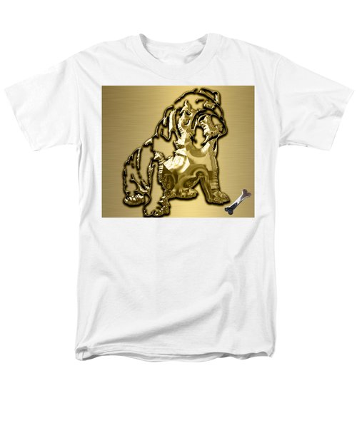 English Bulldog Collection Men's T-Shirt  (Regular Fit) by Marvin Blaine