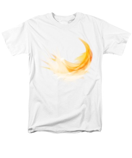 Abstract Feather Men's T-Shirt  (Regular Fit)