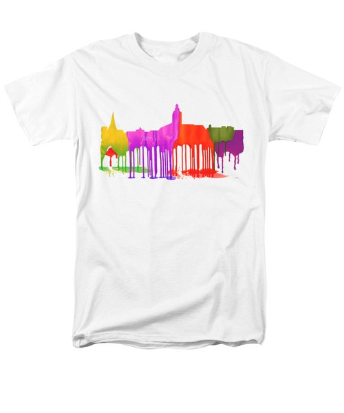 Annapolis Maryland Skyline      Men's T-Shirt  (Regular Fit) by Marlene Watson