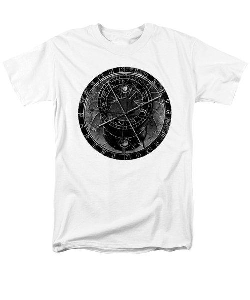Astronomical Clock Men's T-Shirt  (Regular Fit) by Michal Boubin