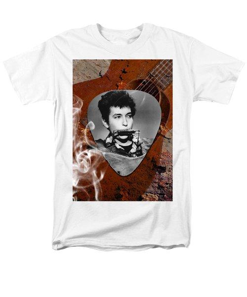 Bob Dylan Art Men's T-Shirt  (Regular Fit) by Marvin Blaine