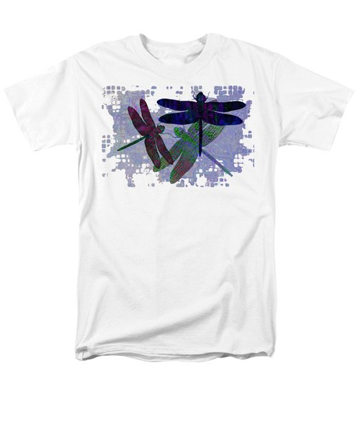 3 Dragonfly Men's T-Shirt  (Regular Fit) by Jack Zulli