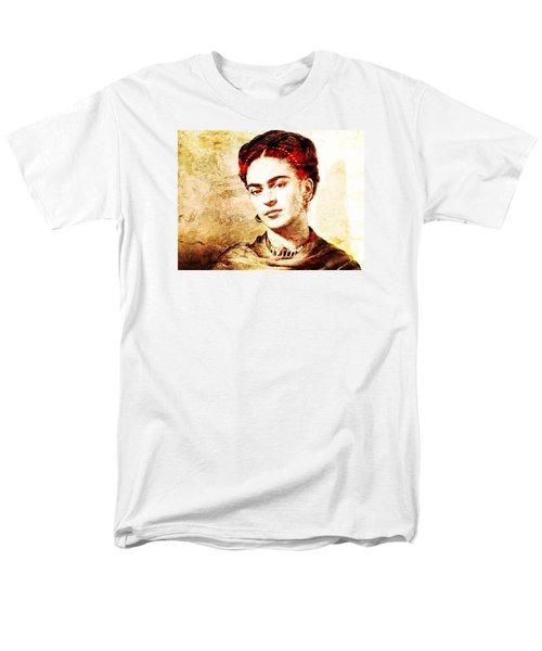 Frida Men's T-Shirt  (Regular Fit) by J- J- Espinoza