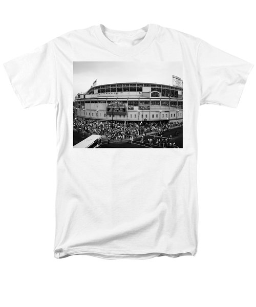 High Angle View Of Tourists Men's T-Shirt  (Regular Fit) by Panoramic Images