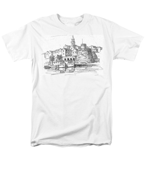 Korcula Croatia Men's T-Shirt  (Regular Fit) by Joseph Hendrix