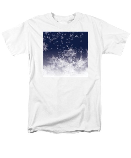 Men's T-Shirt  (Regular Fit) featuring the digital art Peace by Trilby Cole