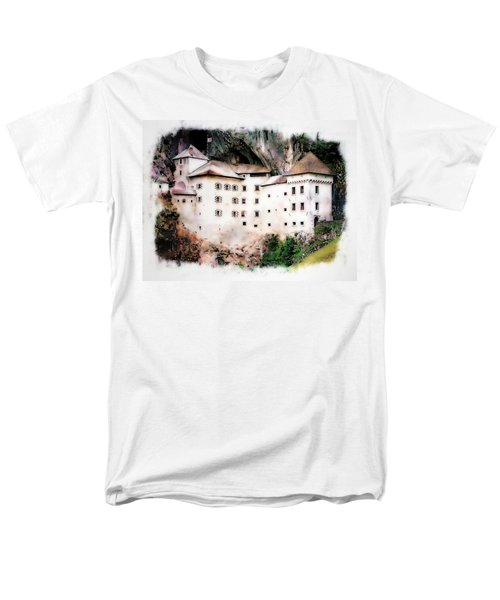 Predjama Castle, Predjama Slovenia Men's T-Shirt  (Regular Fit) by Joseph Hendrix