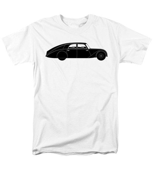 Men's T-Shirt  (Regular Fit) featuring the digital art Sedan - Vintage Model Of Car by Michal Boubin
