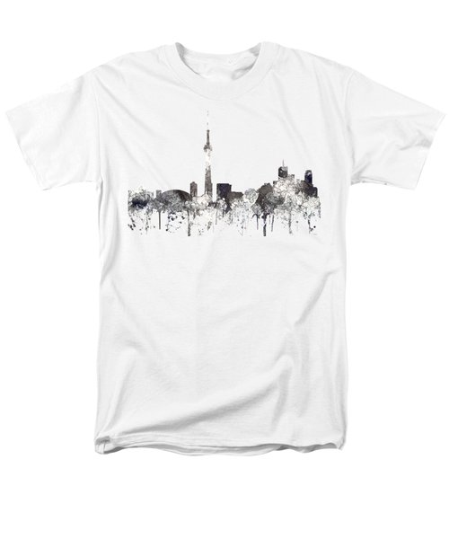 Toronto Ont.skyline Men's T-Shirt  (Regular Fit)
