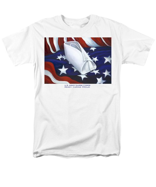 Men's T-Shirt  (Regular Fit) featuring the  U.s. Army Nurse Corps by Marlyn Boyd