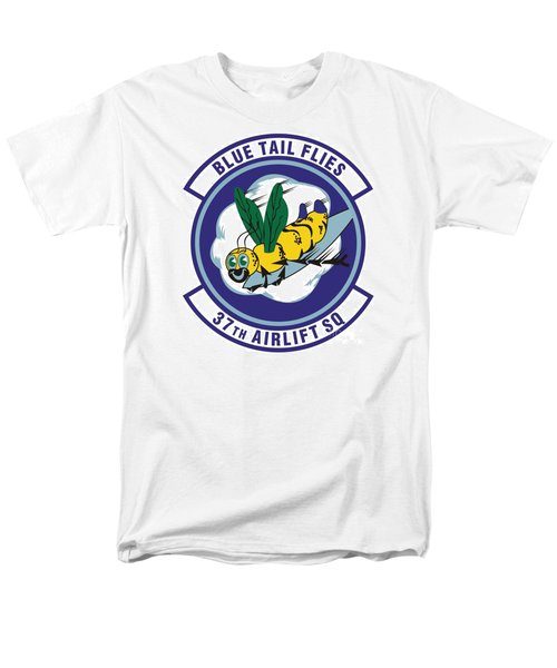 37th Tactical Airlift Squadron Men's T-Shirt  (Regular Fit) by David Bearden