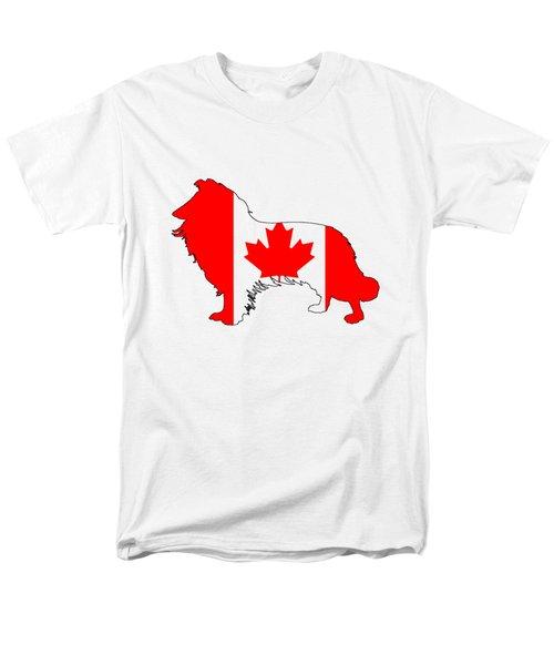 Border Collie Men's T-Shirt  (Regular Fit) by Mordax Furittus