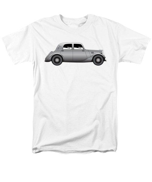 Men's T-Shirt  (Regular Fit) featuring the digital art Coupe - Vintage Model Of Car by Michal Boubin