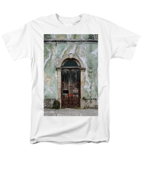 Men's T-Shirt  (Regular Fit) featuring the photograph Door With No Number by Marco Oliveira