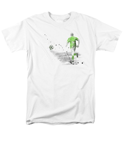 Football Player Men's T-Shirt  (Regular Fit)