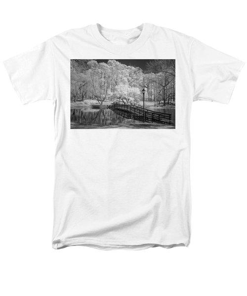 Bridge Over Water Men's T-Shirt  (Regular Fit) by Denis Lemay