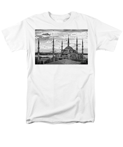 The Blue Mosque - Istanbul Men's T-Shirt  (Regular Fit) by Luciano Mortula