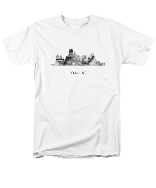 Dallas Texas Skyline Men's T-Shirt  (Regular Fit) by Marlene Watson