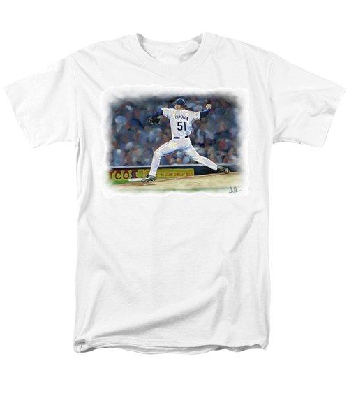 Trevor Hoffman Men's T-Shirt  (Regular Fit) by Don Olea