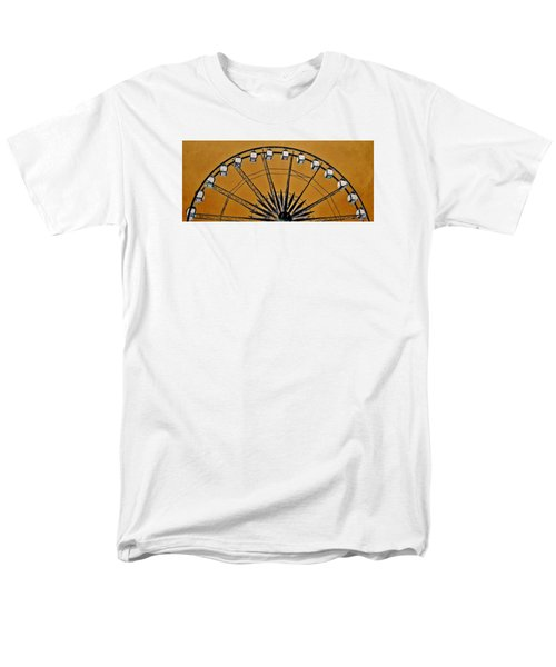 Men's T-Shirt  (Regular Fit) featuring the photograph Ferris Wheel Impressions by Werner Lehmann