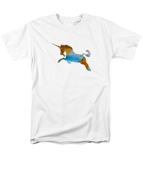 Unicorn Men's T-Shirt  (Regular Fit) by Mordax Furittus