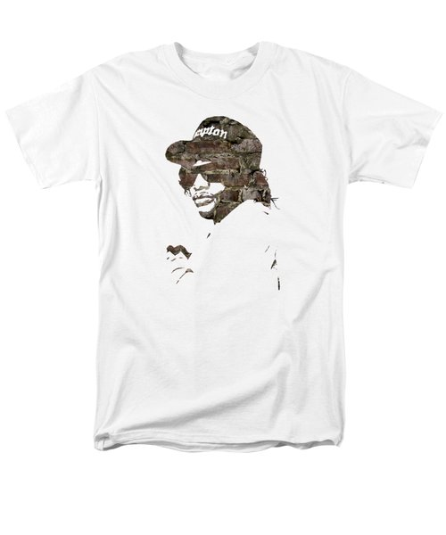 Eazy E Straight Outta Compton Men's T-Shirt  (Regular Fit) by Marvin Blaine