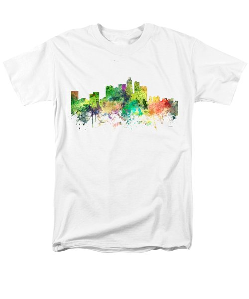 Los Angeles California Skyline Men's T-Shirt  (Regular Fit)