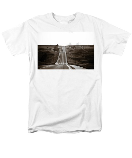 A Country Mile 1 Men's T-Shirt  (Regular Fit) by Marilyn Hunt