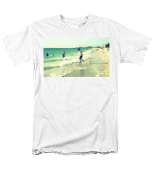 Men's T-Shirt  (Regular Fit) featuring the photograph a day at the beach III by Hannes Cmarits