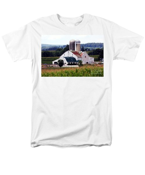 Men's T-Shirt  (Regular Fit) featuring the photograph A Farmer's Paradise by Polly Peacock