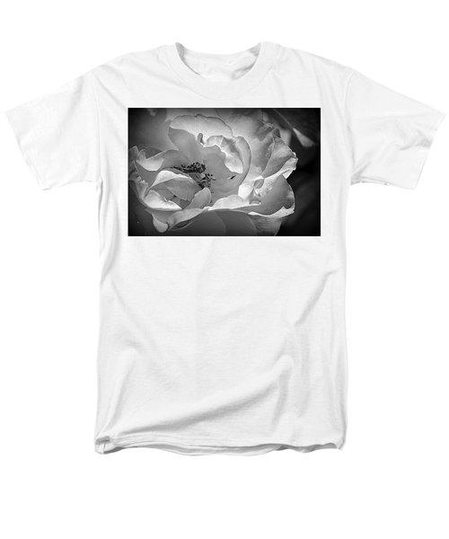 Men's T-Shirt  (Regular Fit) featuring the photograph A Garden Treasure by Lori Seaman