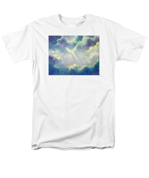 A Gift From Heaven Men's T-Shirt  (Regular Fit) by Marina Petro