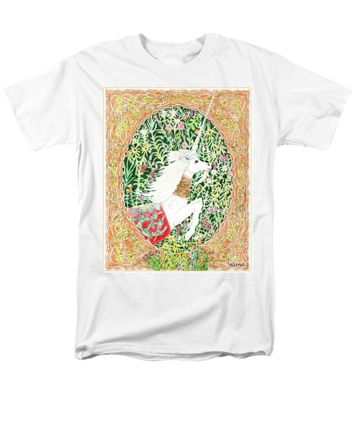 A Pawn Escapes Limited Edition Men's T-Shirt  (Regular Fit) by Lise Winne