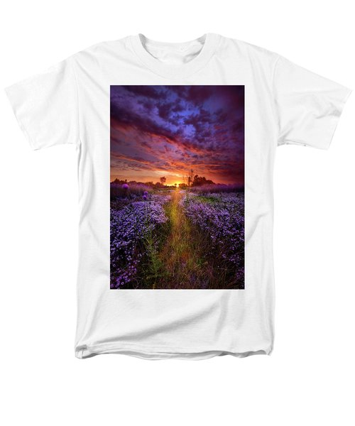 A Peaceful Proposition Men's T-Shirt  (Regular Fit) by Phil Koch