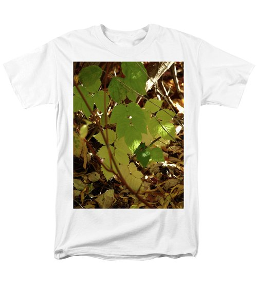 A Plant's Various Colors Of Fall Men's T-Shirt  (Regular Fit) by DeeLon Merritt
