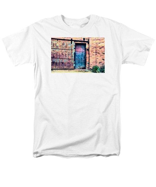 A Rusty Loading Dock Door Men's T-Shirt  (Regular Fit) by Diana Mary Sharpton