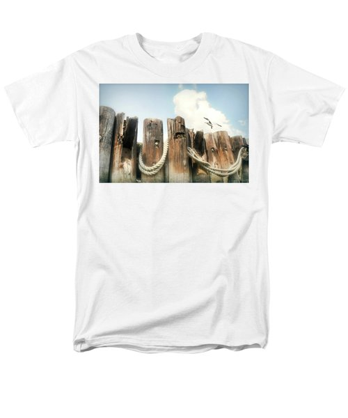It's A Shore Thing Men's T-Shirt  (Regular Fit) by Diana Angstadt