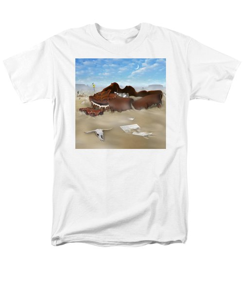 A Slow Death In Piano Valley Sq Men's T-Shirt  (Regular Fit) by Mike McGlothlen