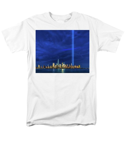 Men's T-Shirt  (Regular Fit) featuring the photograph A Tribute At Dusk by Chris Lord