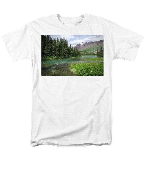A Walk In The Forest Men's T-Shirt  (Regular Fit)