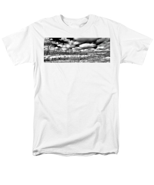 Men's T-Shirt  (Regular Fit) featuring the photograph A Winter Panorama by David Patterson